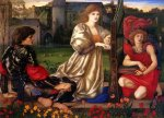 Edward Burne-Jones (Edward Burne Jones) (1833-1898)  Le Chant d'Amour  Oil on canvas, 1868-1877  Metropolitan Museum of Art, Manhattan, New York, United States